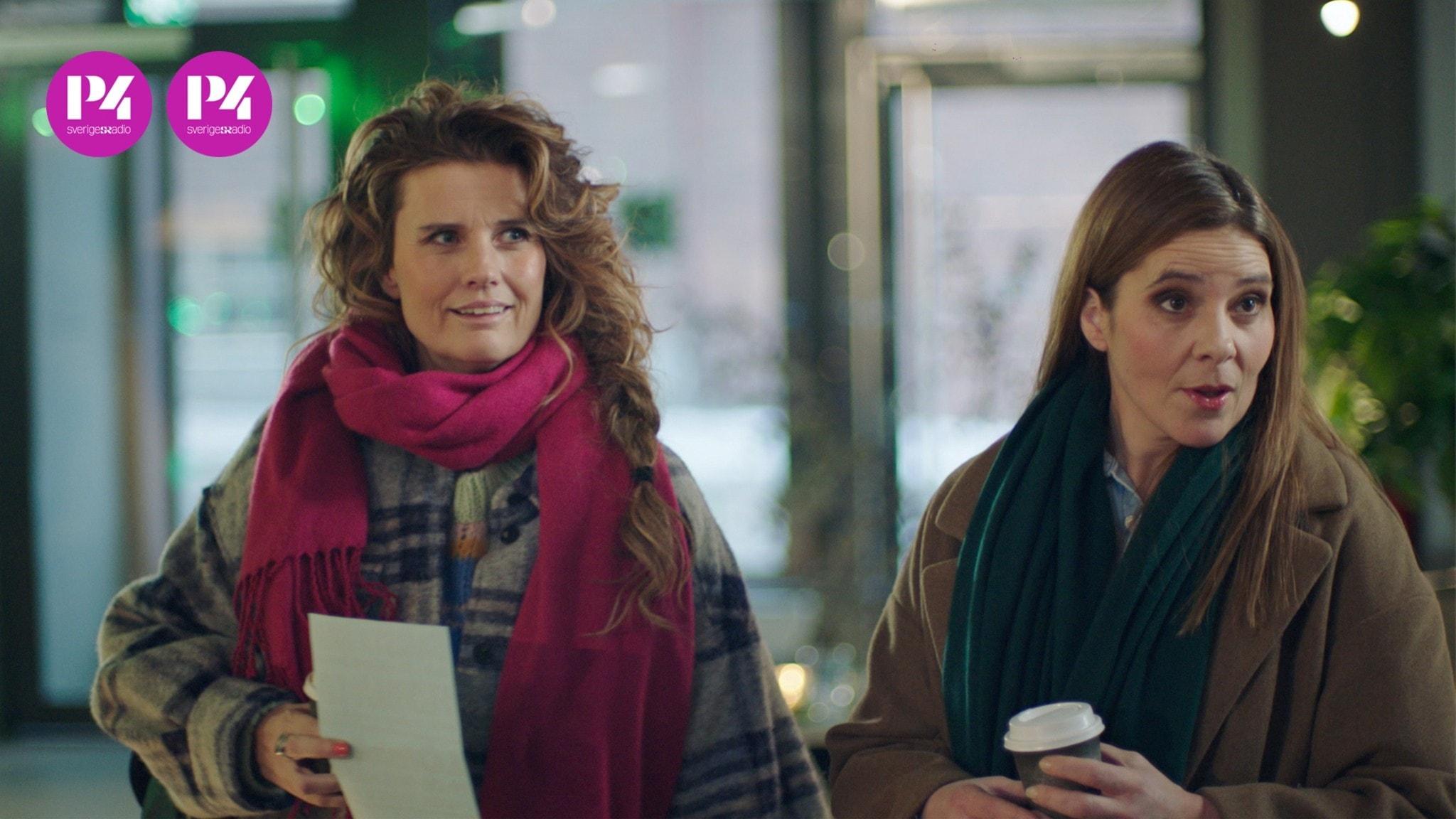 """Christine Meltzer och Vanna Rosenberg i """"Udda veckor""""."""