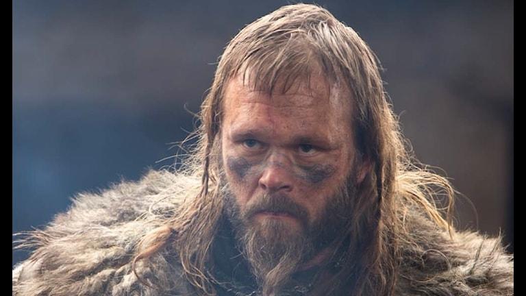 """Joakim Nätterqvist i sin roll i ryska filmen """"Viking"""""""