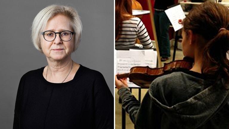 Lärarförbundets Marie Wall Almquist om kulturskoleutredningens förslag om undervisningstider.