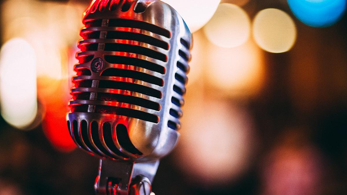 Mikrofon i äldre stil