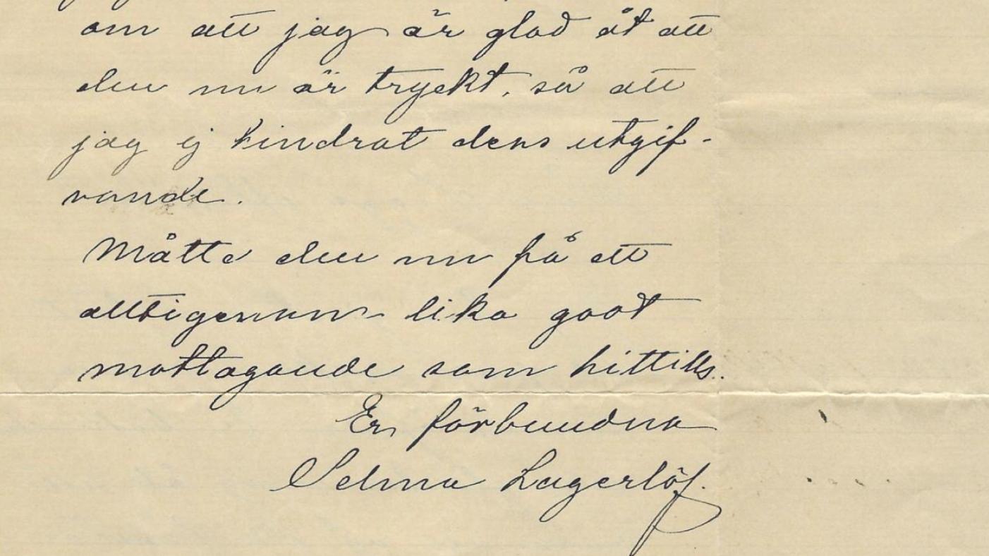 Ny bild av Selma Lagerlöf träder fram i hennes brevsvar till läsare och nu efterlyser en kommitté en nationaljojk för Sápmi.