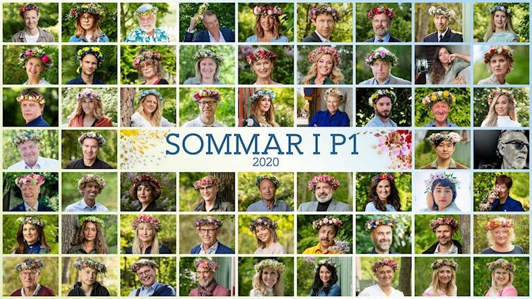 Gruppfoto Sommar i P1 2020