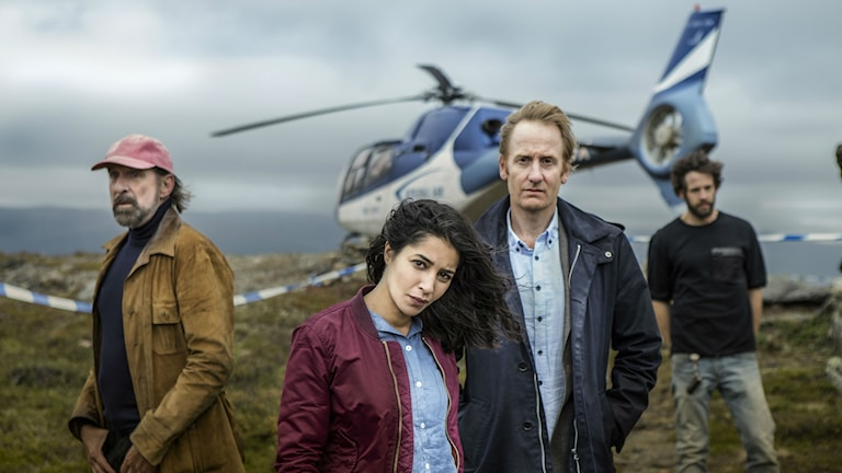 Peter Stormare, Leïla Bekhti och Gustaf Hammarsten gör några av huvudrollerna i SVT:s Midnattssol.