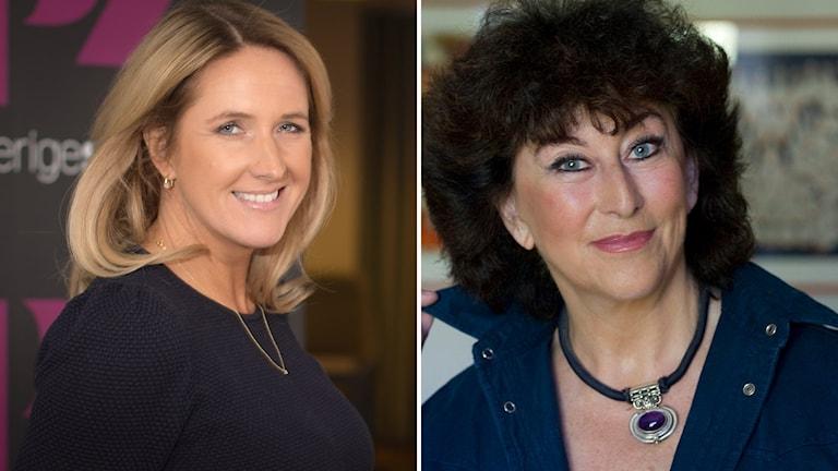 "Denise Rudberg och Marianne Ahrne debuterar i ""På spåret""."