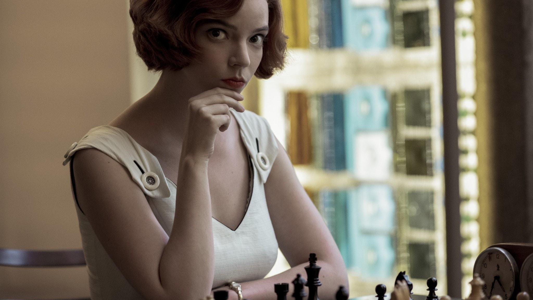 """Netflix-serien """"The queen's gambit"""""""
