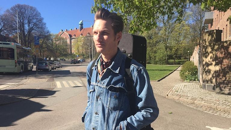 Artisten Bror Gunnar Jansson.