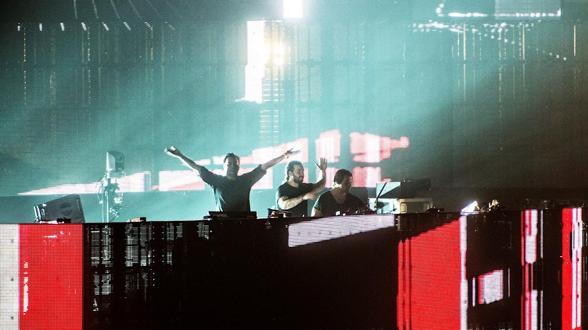 Swedish House Mafia - här på Friends Arena.