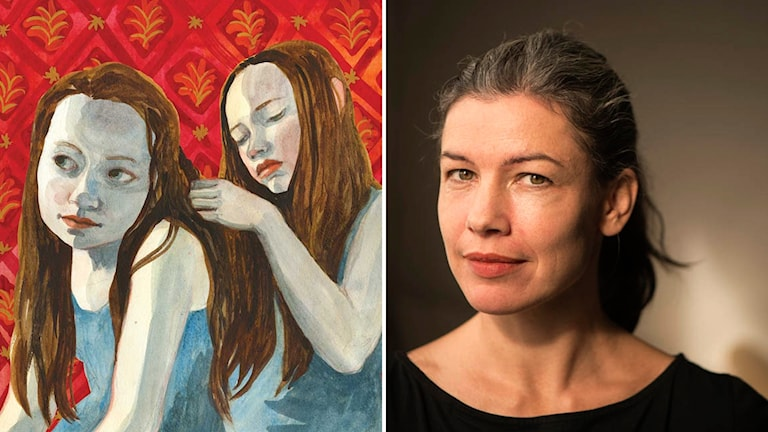 """""""Fågeln i mig flyger vart den vill"""" av illustratören och författaren Sara Lundberg."""
