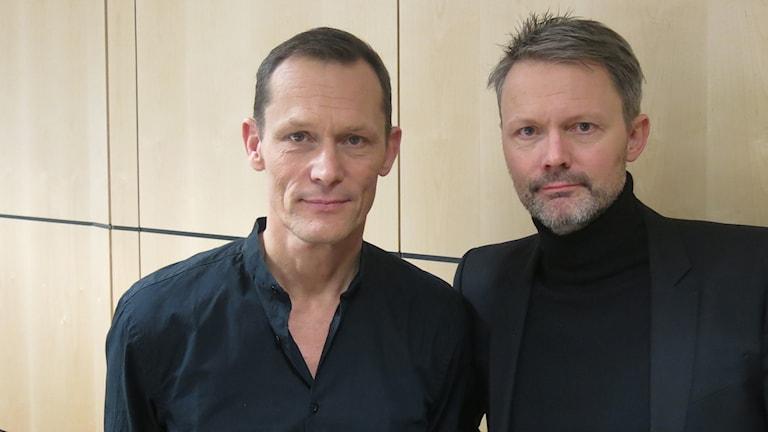 Måns och Felix Herngren. Foto: Björn Jansson/Sveriges Radio.