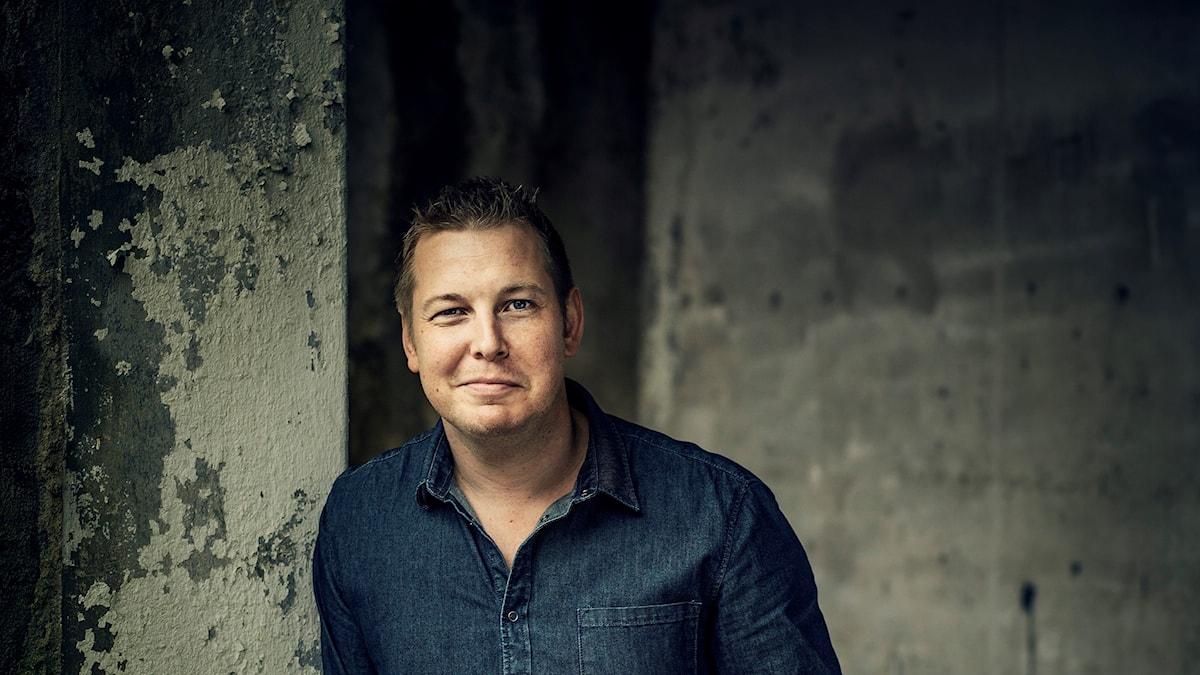 Författaren Fredrik Backman.