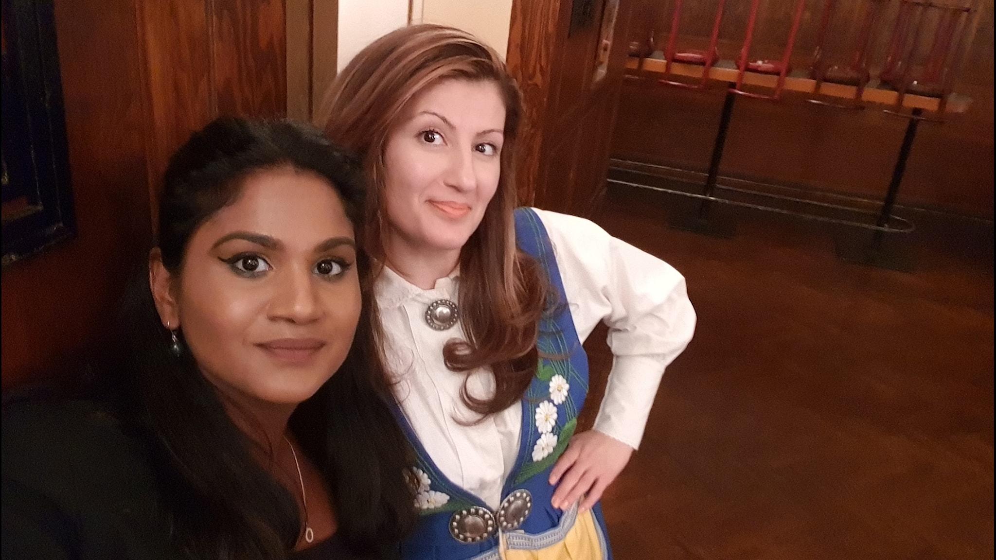 Komikern Nisti Stêrk om dokumentären om svenska kvinnliga komiker, Storbritannien har konststress pga Brexit, J Balvin till Sverige.