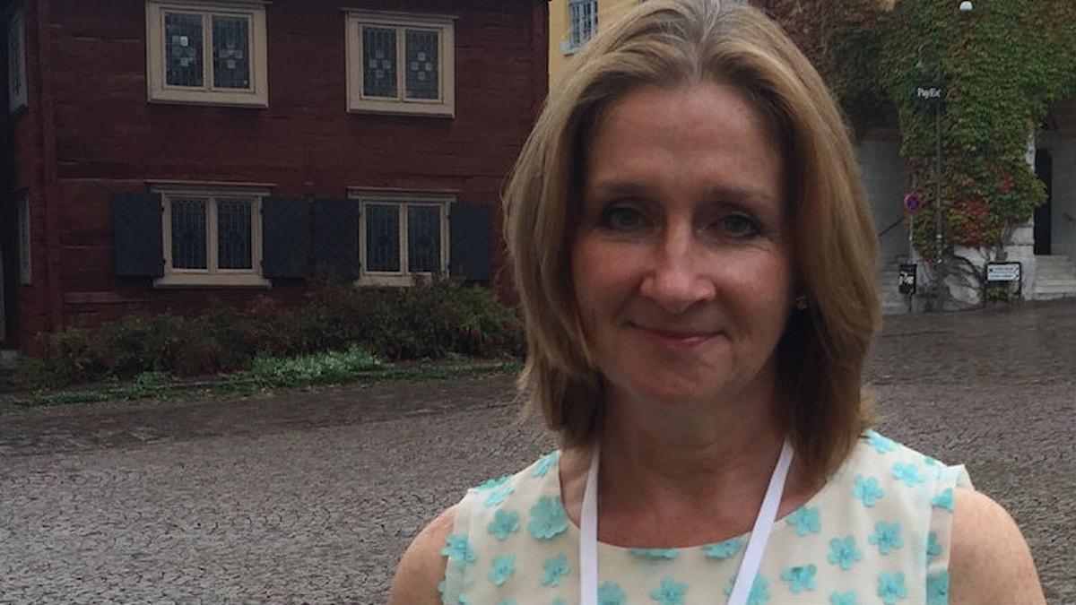 Brittiska deckarförfattaren Sharon Bolton.