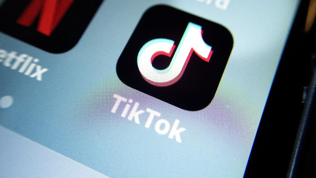TikToks ikon på en display.