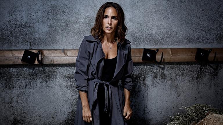 "Alexandra Rapaport gör rollen som Sonja Ek i tv-serien ""Gåsmamman"""
