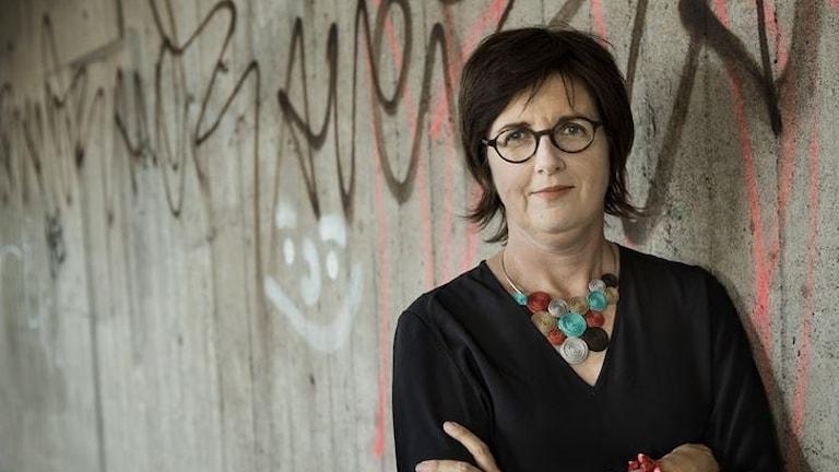 Författaren Christina Wahldén.
