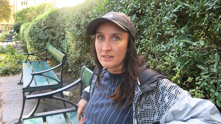 "Ragnhild Ekner har gjort dokumentären ""Trafikljusen blir blå imorgon"". Foto: Björn Jansson/Sveriges Radio."