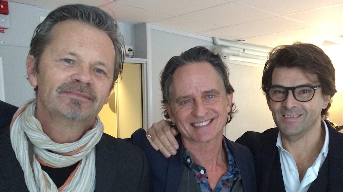 GES, med Anders Glennmark, Orup Eriksson och Niklas Strömstedt.