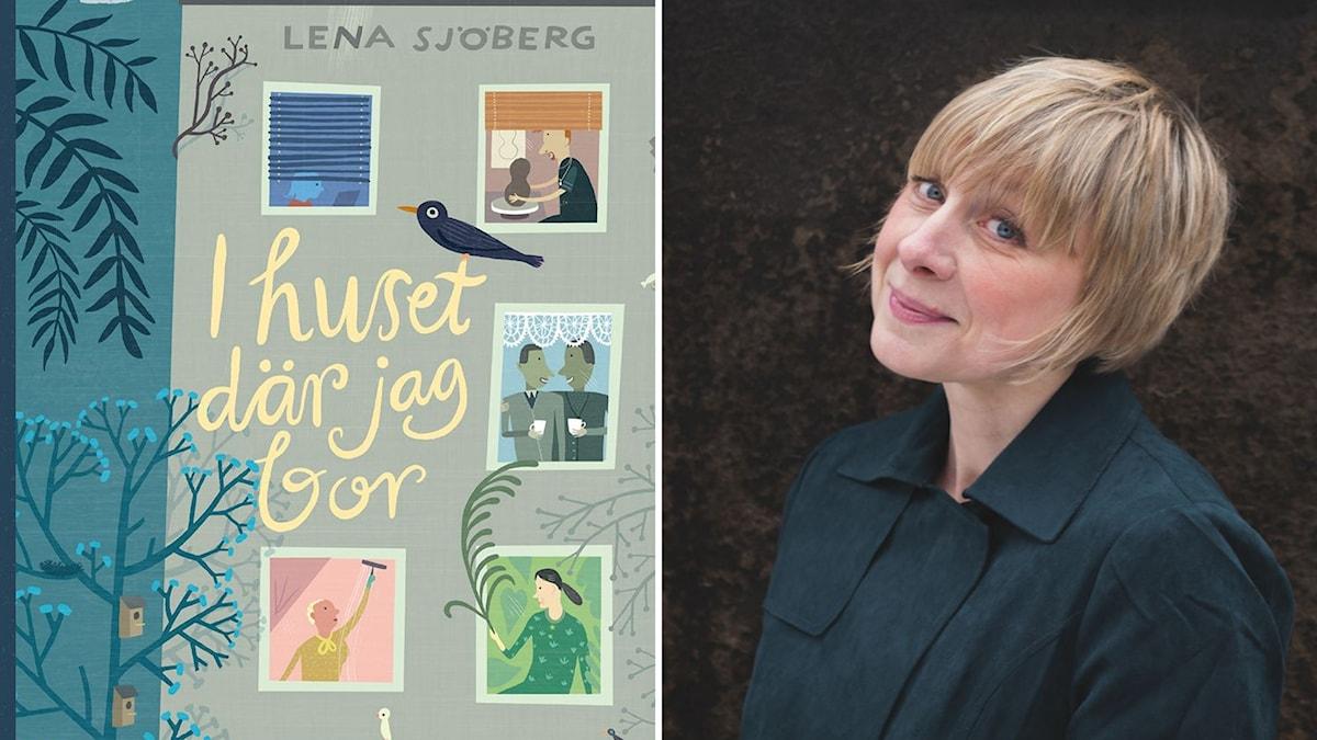 """""""I huset där jag bor"""" av författaren och illustratören Lena Sjöberg."""
