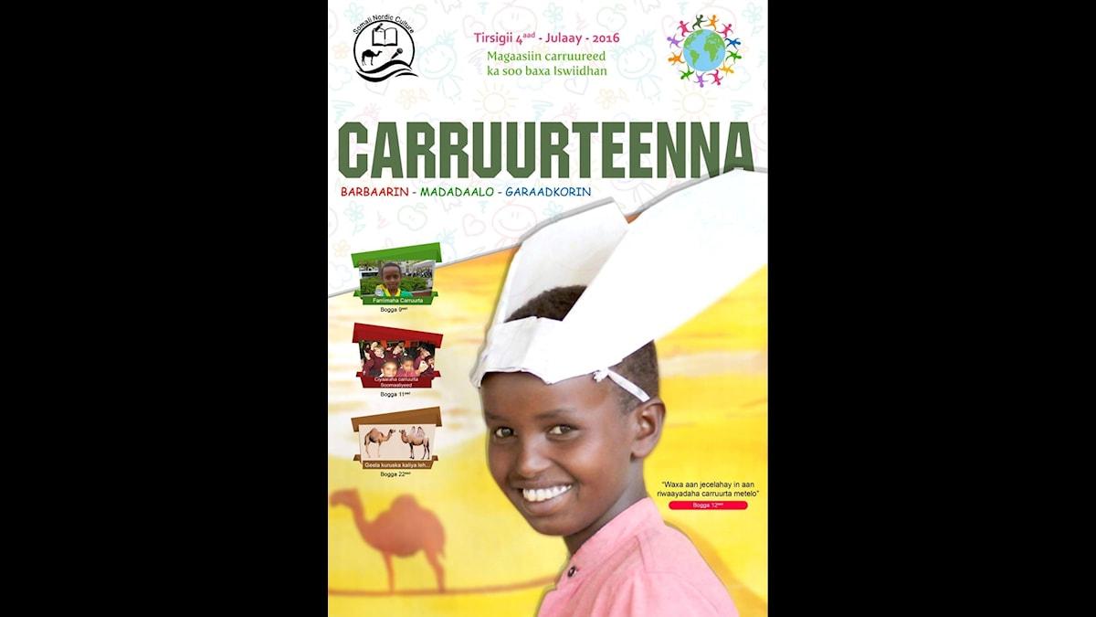 Omslag till tidningen Carruurteenna