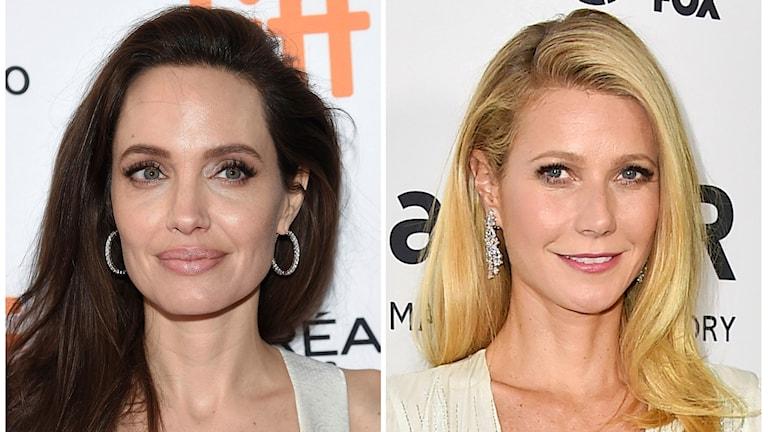 Angelina Jolie och Gwyneth Paltrow träder fram och berättar om Harvey Weinsteins sexuella trakasserier.