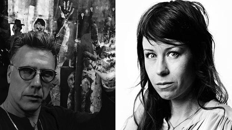 Mikael Persbrandt och Anna Odell gör film tillsammans.