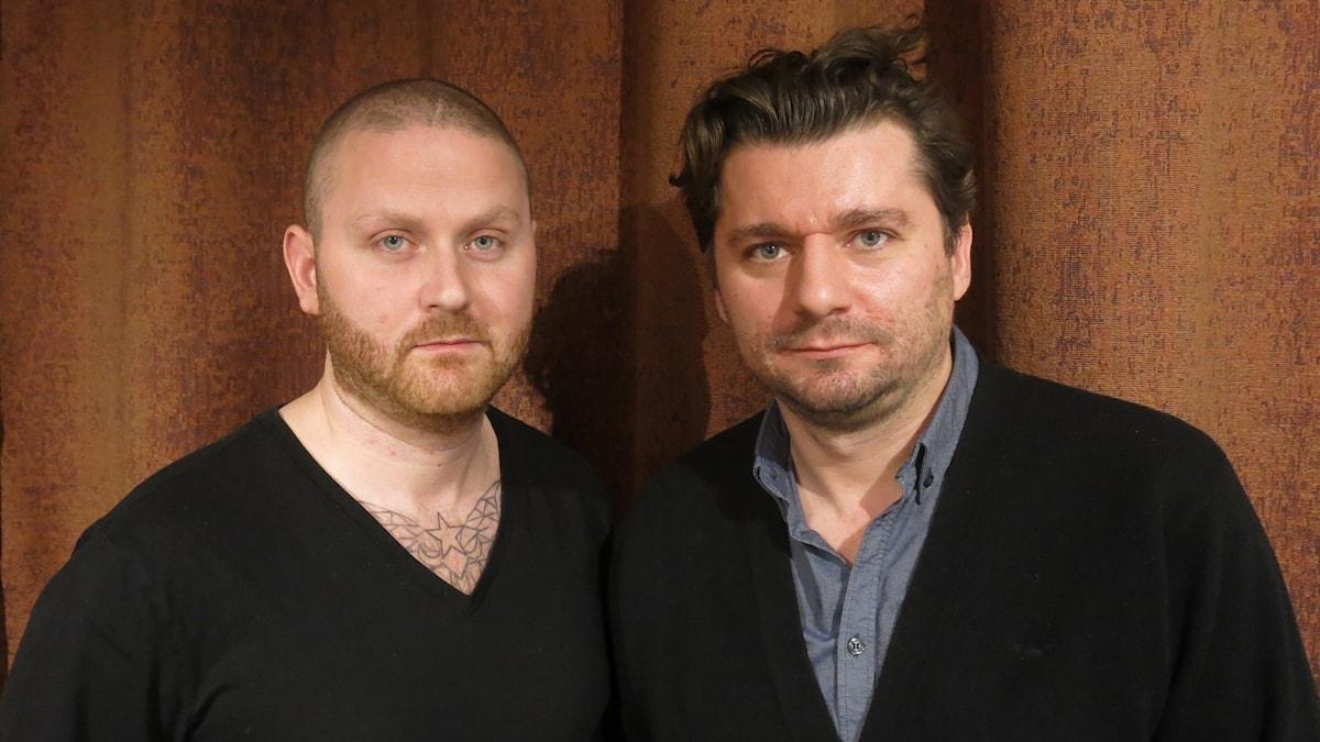 Can Demirtas och Ivica Zubak som gjort Måste gitt. Foto: Björn Jansson/Sveriges Radio.