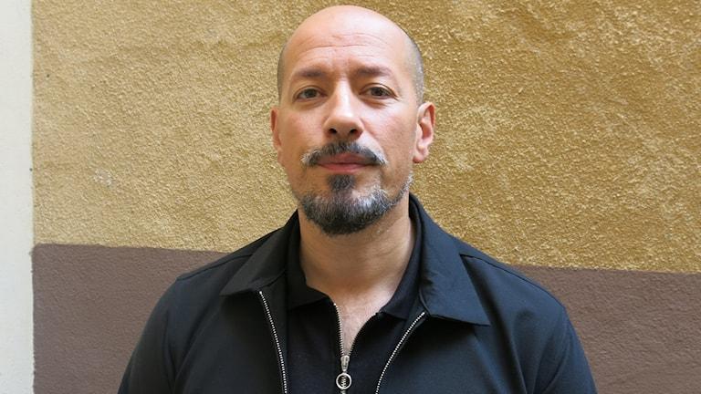 Tarik Saleh har skrivit och regisserat The Nile Hilton Incident. Foto: Björn Jansson/Sveriges Radio.