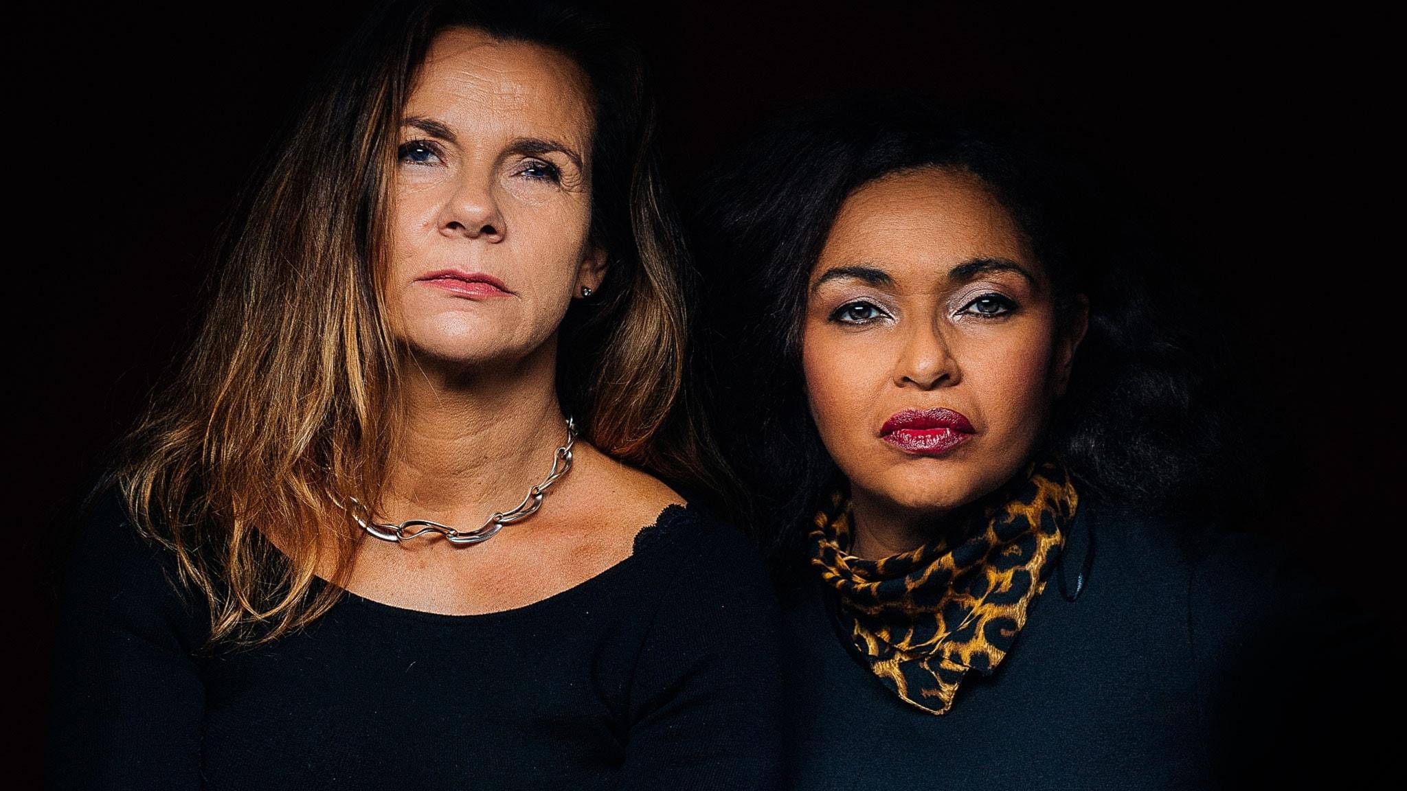Katarina Hahr och Camilla Henemark.