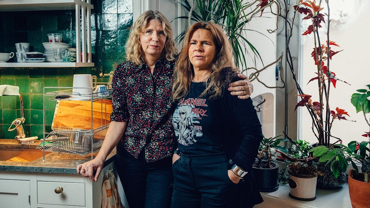 Karin Mamma Andersson och Katarina Hahr.