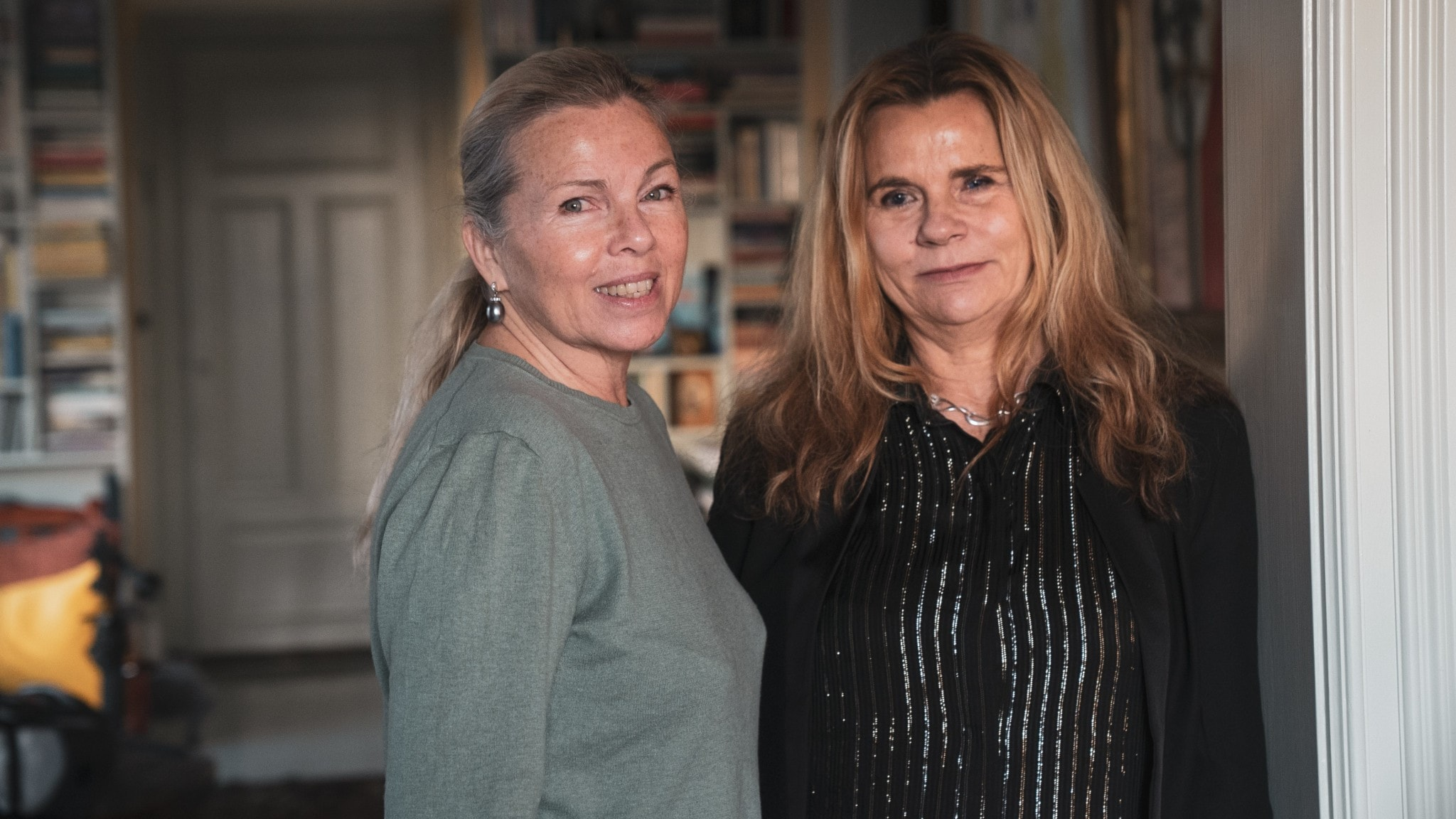 Görel Crona och Katarina Hahr.