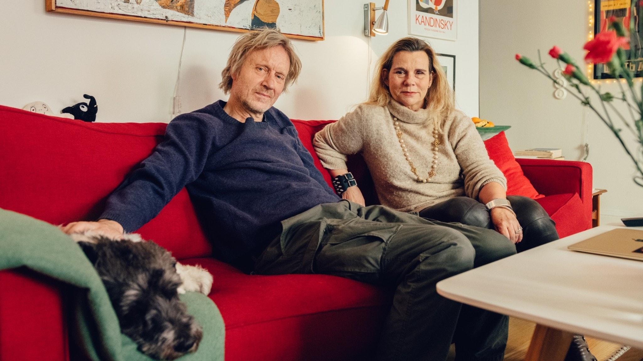Bengt Ohlsson och Katarina Hahr.