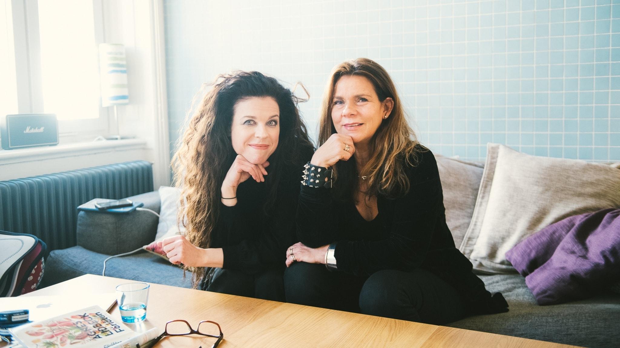 Katarina Hahr möter möter Jessika Gedin i ett samtal om tillit