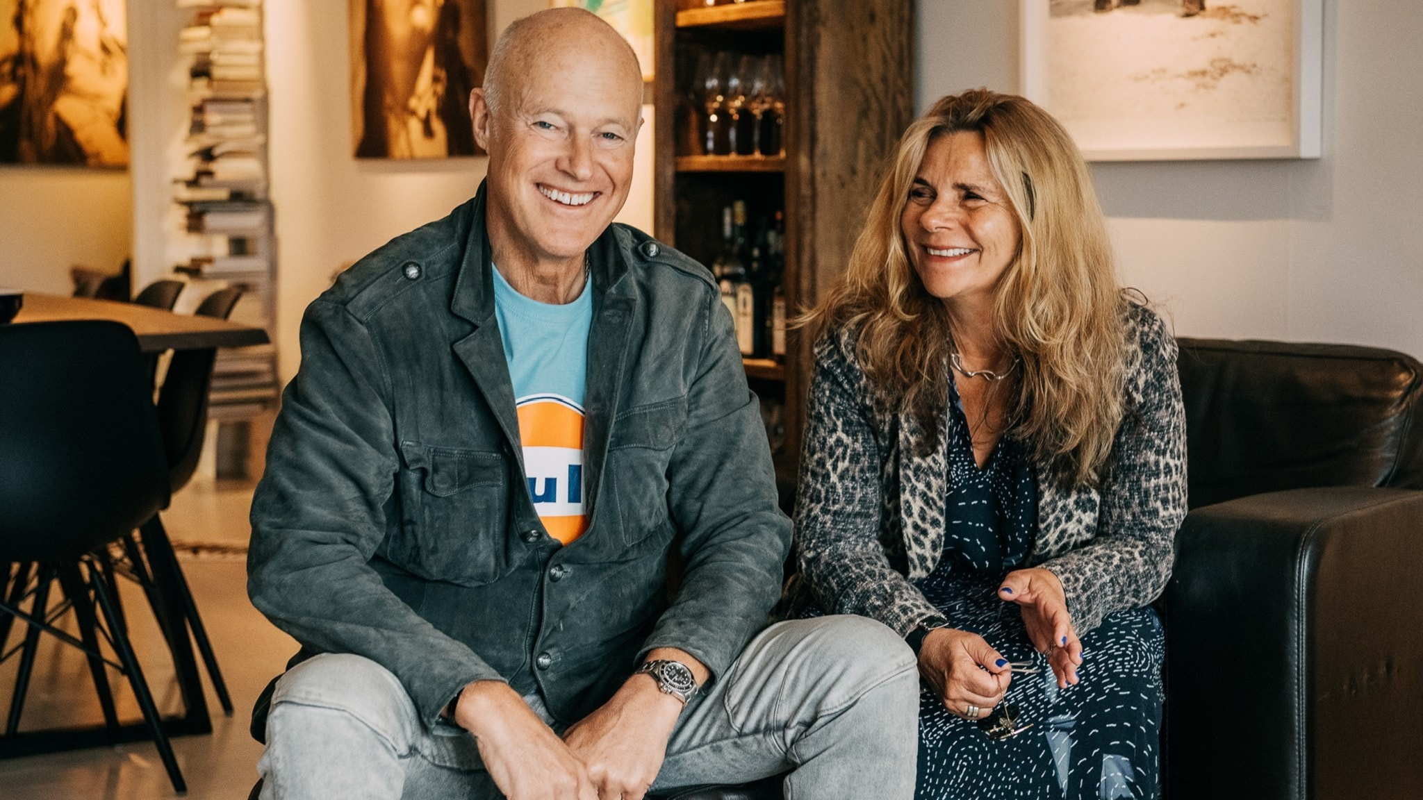 Katarina Hahr möter skådespelaren Stefan Sauk i ett samtal om bekräftelse