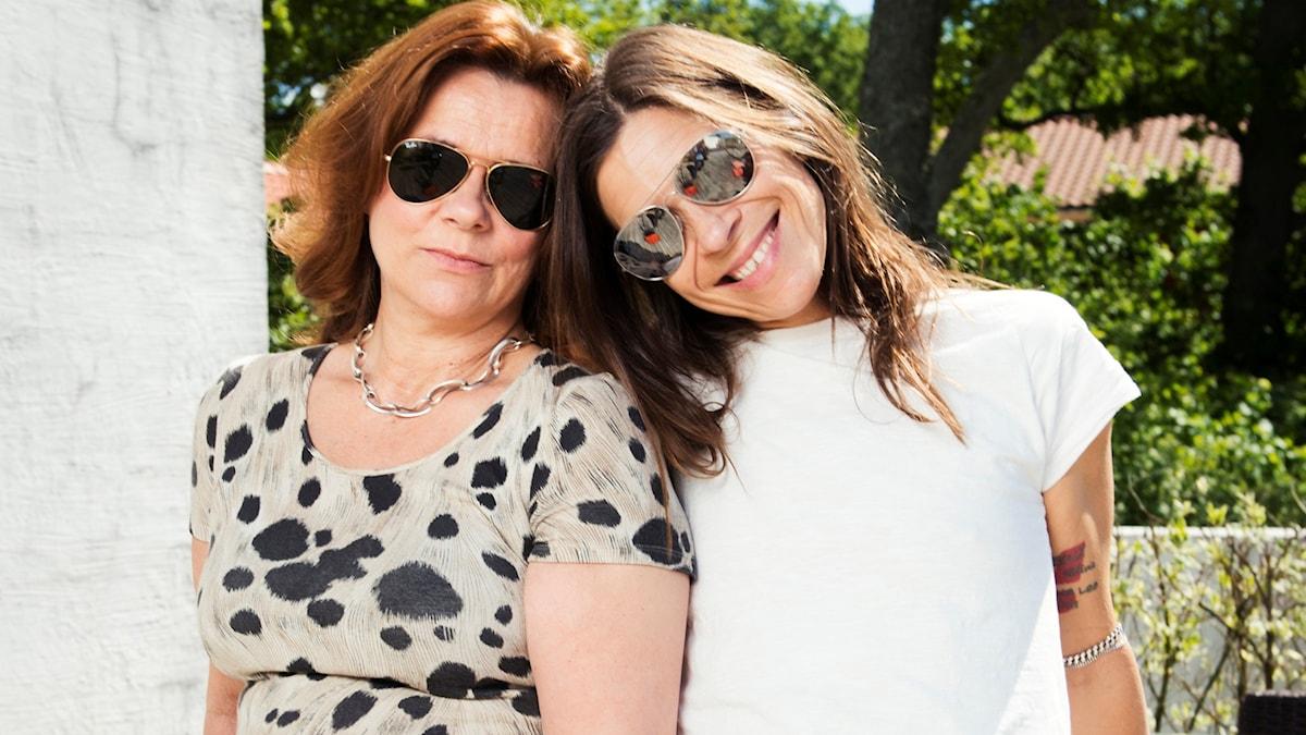 Katarina Hahr och Caroline af Ugglas  Foto: Alexander Donka/Sveriges Radio