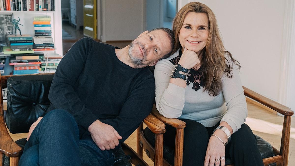 Thomas Hanzon och Katarina Hahr.
