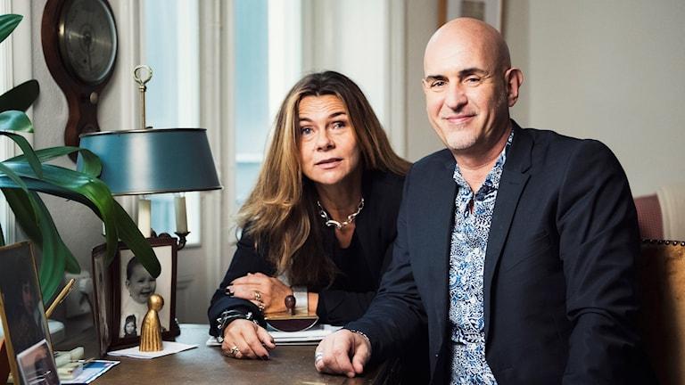 Katarina Hahr och Micael Bindefeld.