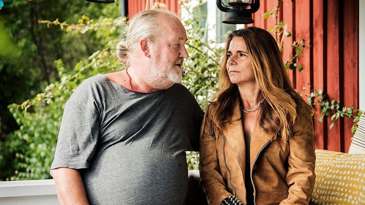 Plura Jonsson och Katarina Hahr.