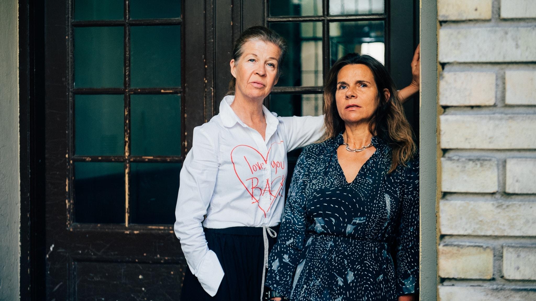 Katarina Hahr möter skådespelaren Ingela Olsson i ett samtal om tillit