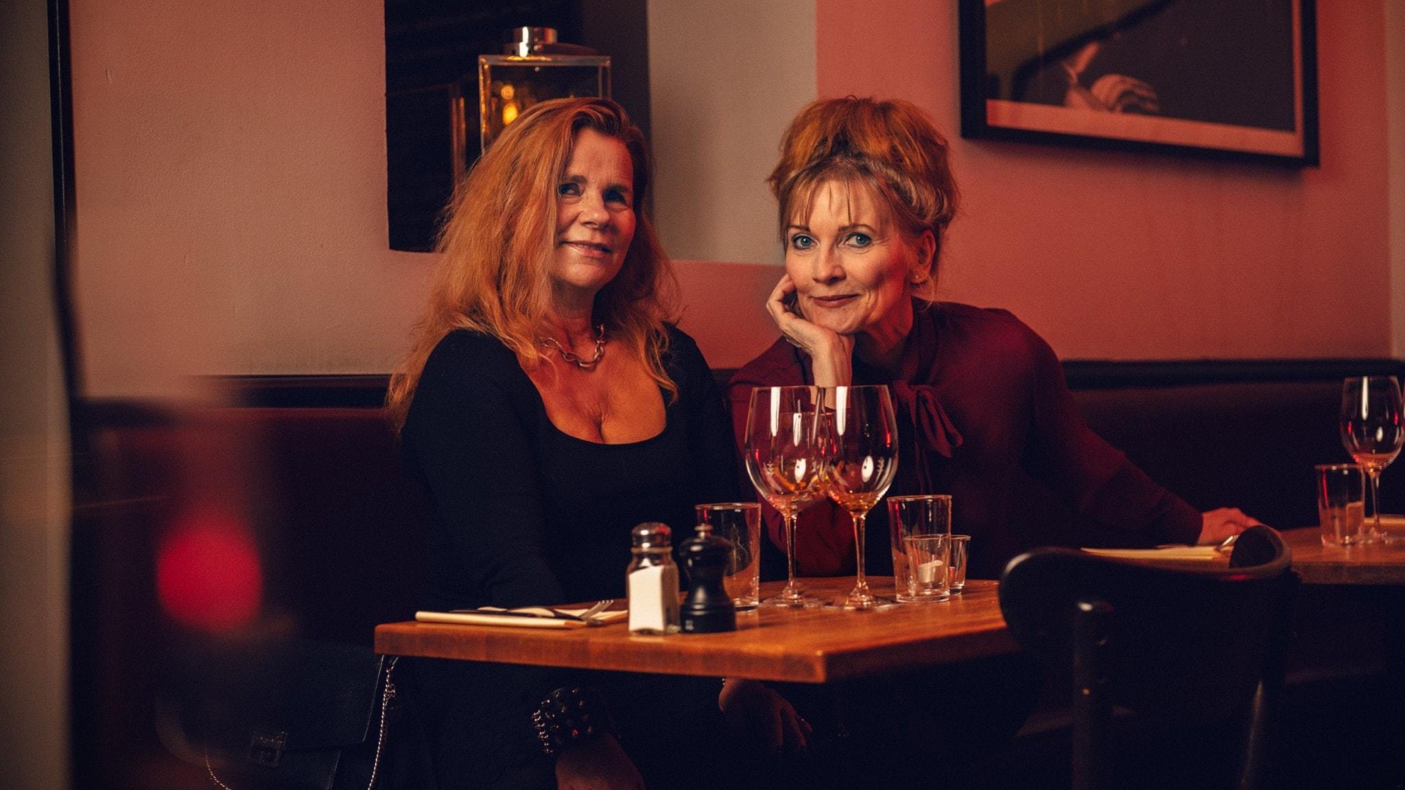Katarina Hahr och Anne-Lie Rydé