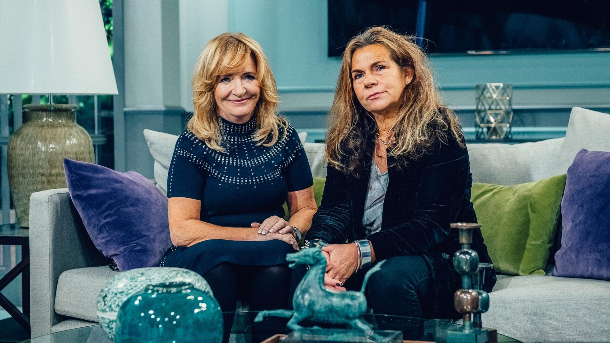 Katarina Hahr möter journalisten Malou von Sivers i ett samtal om föräldraskap