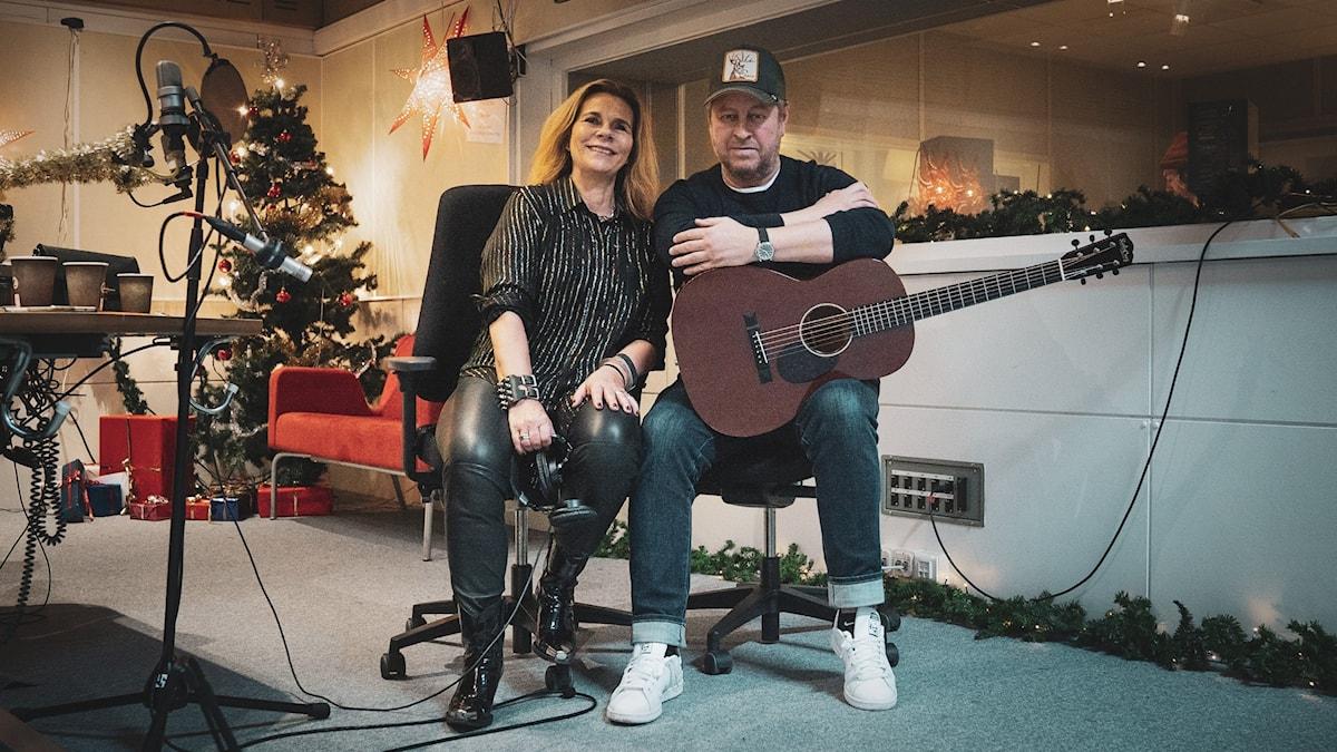 Katarina Hahr och Mauro Scocco.