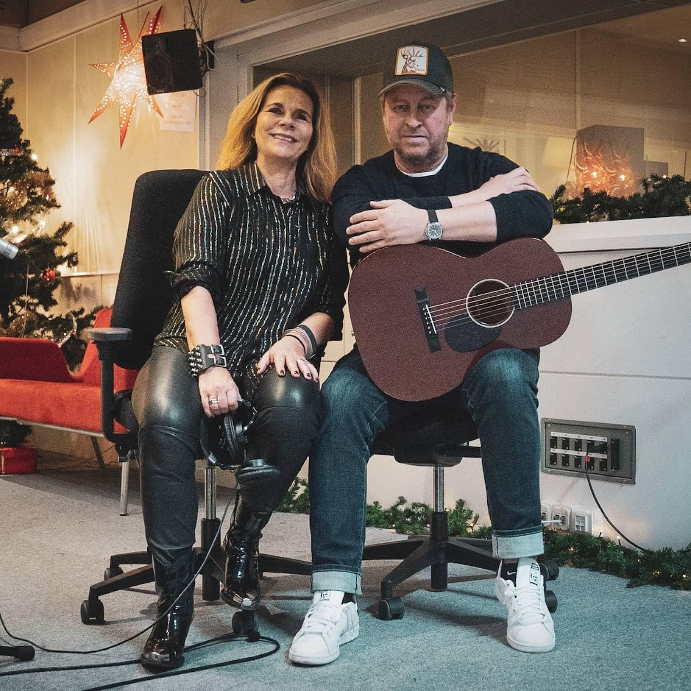 Julspecial 2019:Katarina Hahr och Mauro Scocco