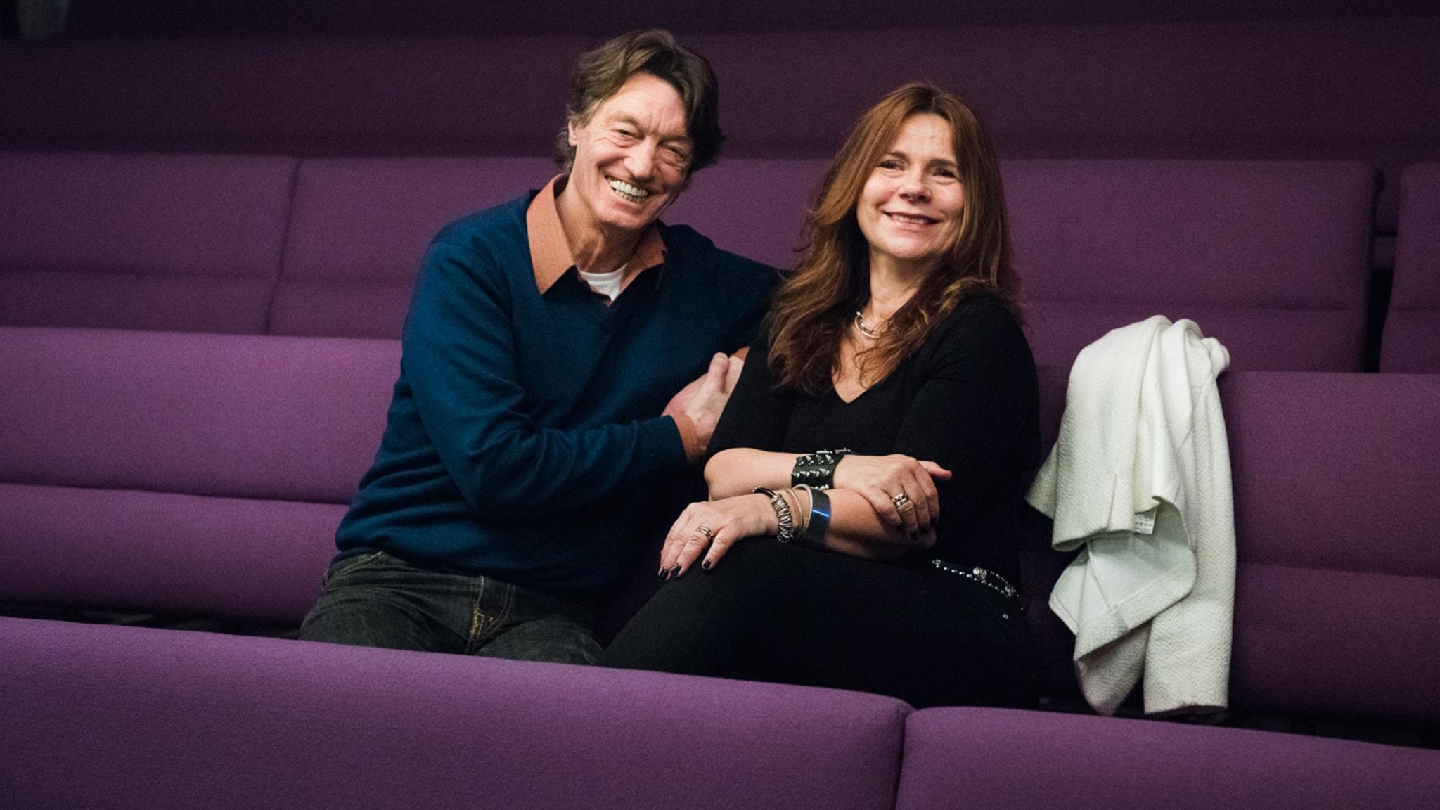 Johannes Brost och Katarina Hahr.