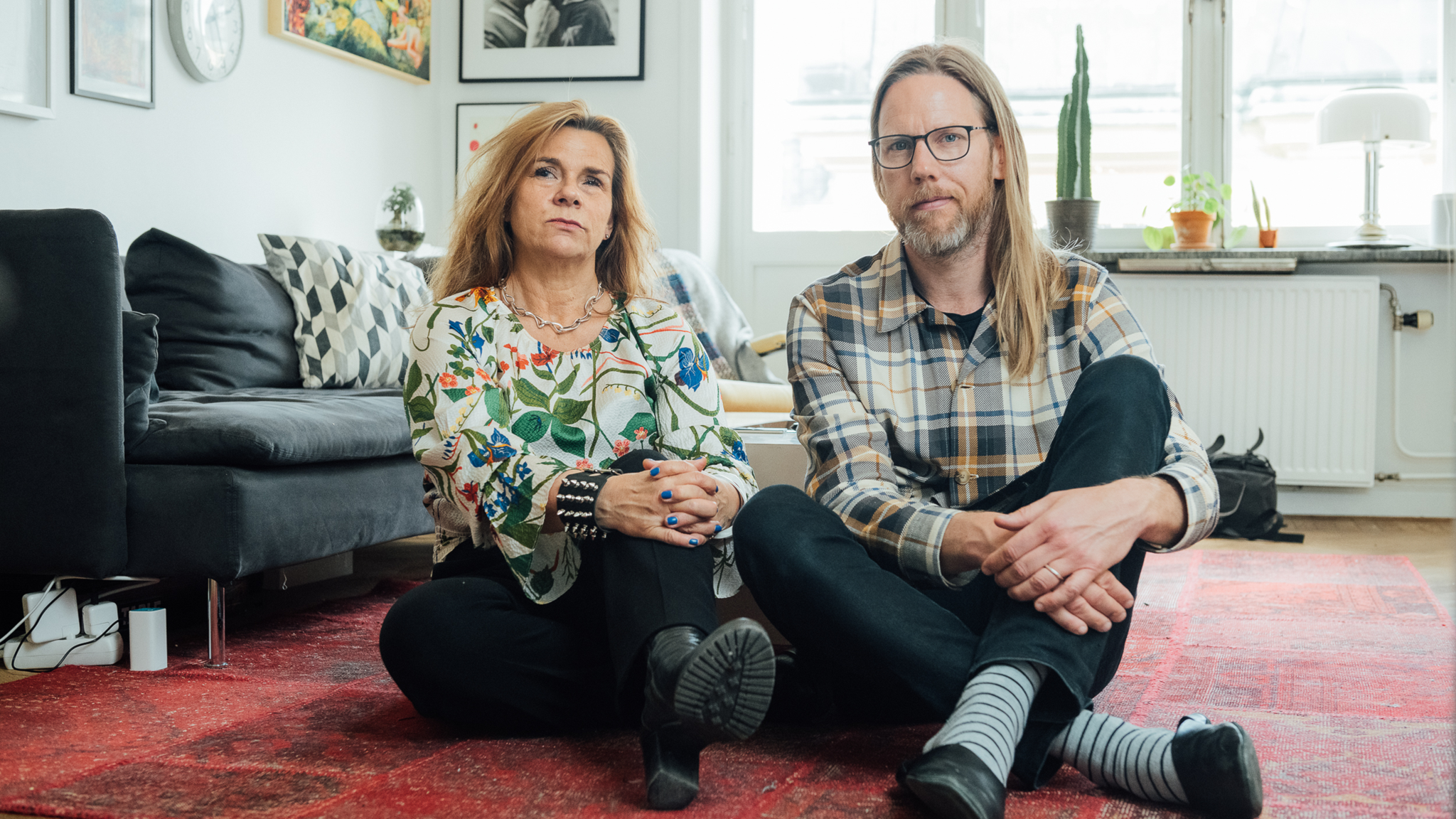 Katarina Hahr möter podcastaren Kristoffer Triumf