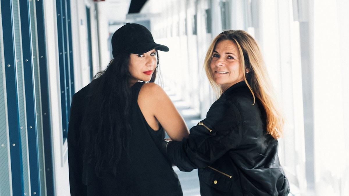 Bahar Pars och Katarina Hahr.