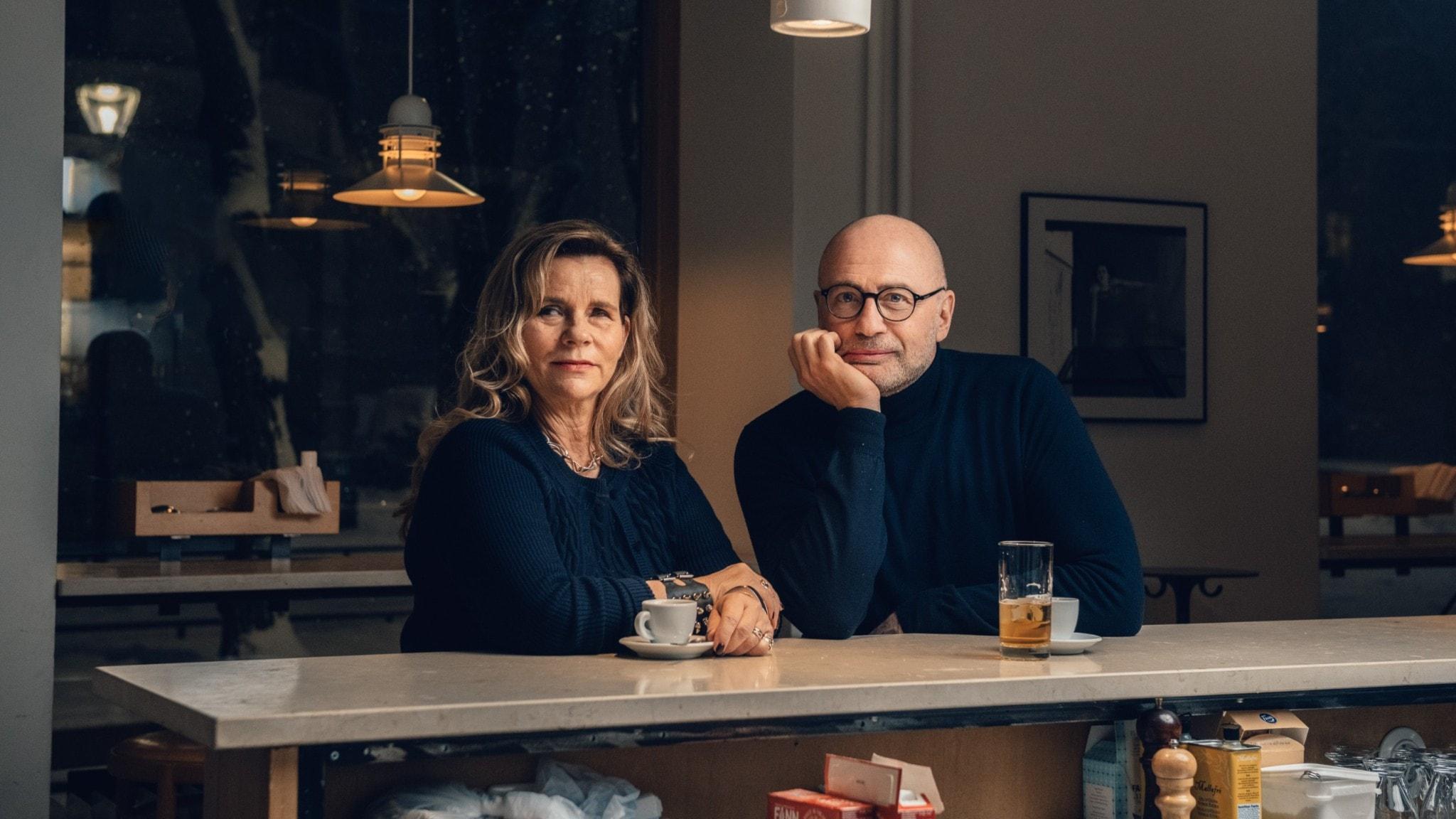 Katarina Hahr och Per Graffman.
