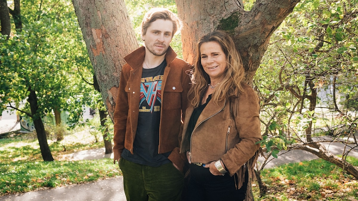 Sverrir Gudnason och Katarina Hahr.