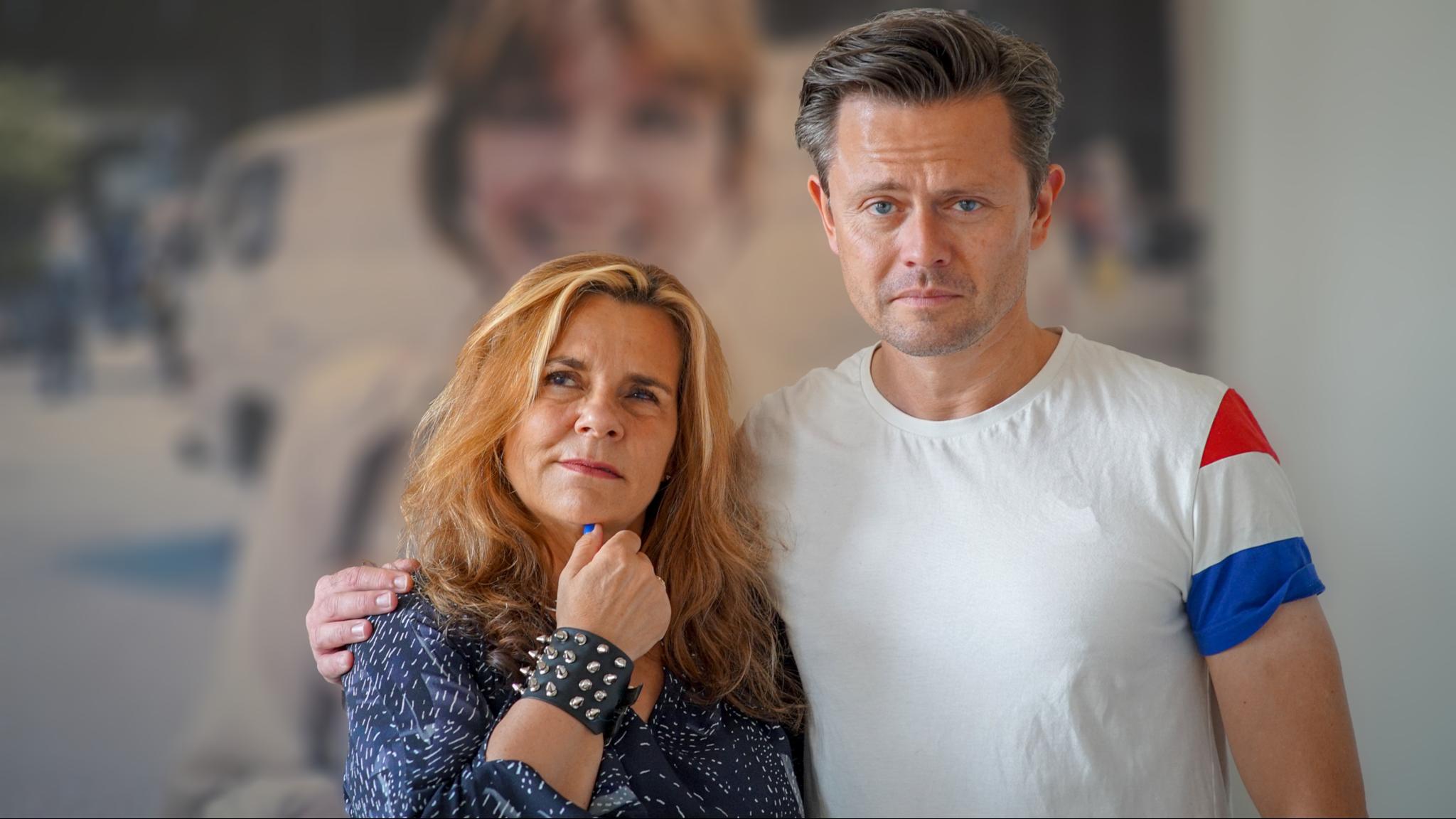 Katarina Hahr och Fredrik Wikingsson.