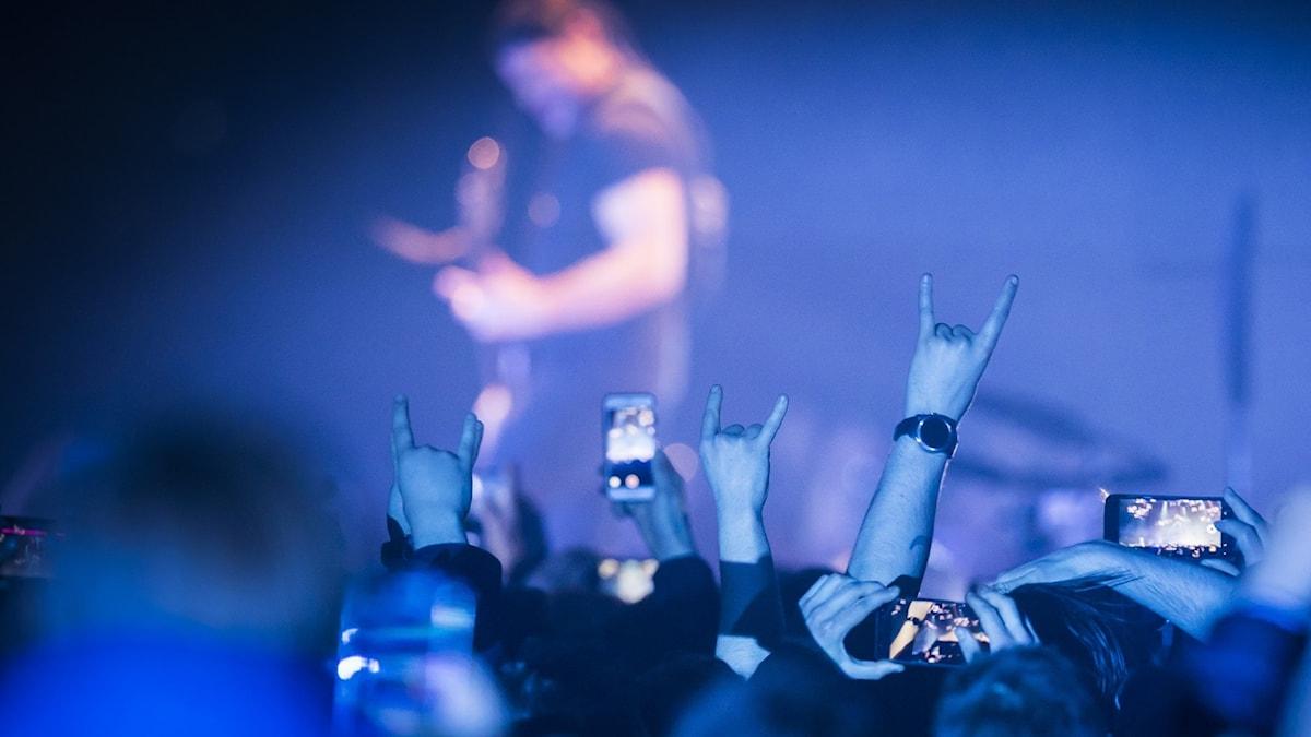 Det amerikanske heavy metal-bandet Metallica spiller på Telenor Arena onsdag kveld under sin WorldWired Tour.