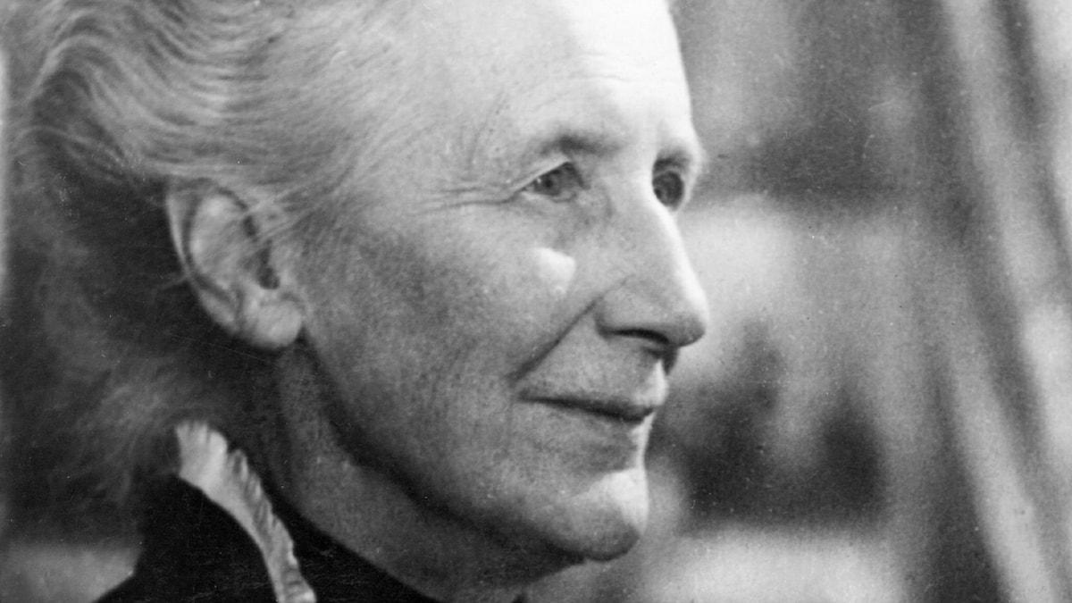 Alice Tegnér 1939. Foto: SVT Bild